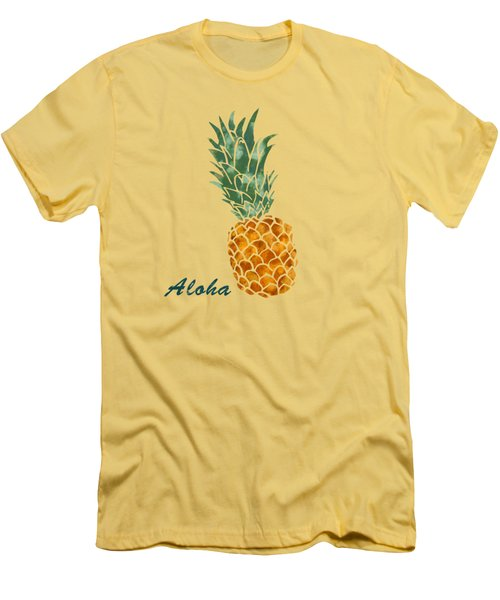 Pineapple Men's T-Shirt (Slim Fit)