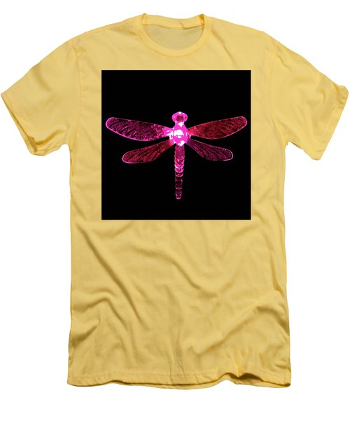 Pink Dragonfly Men's T-Shirt (Athletic Fit)