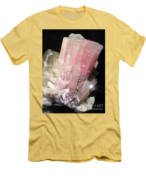 Pink Gemstone Men's T-Shirt (Athletic Fit)