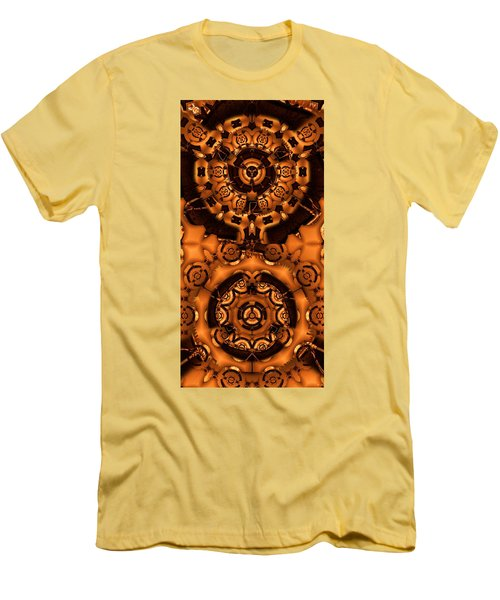 Pinyin Men's T-Shirt (Slim Fit) by Ron Bissett