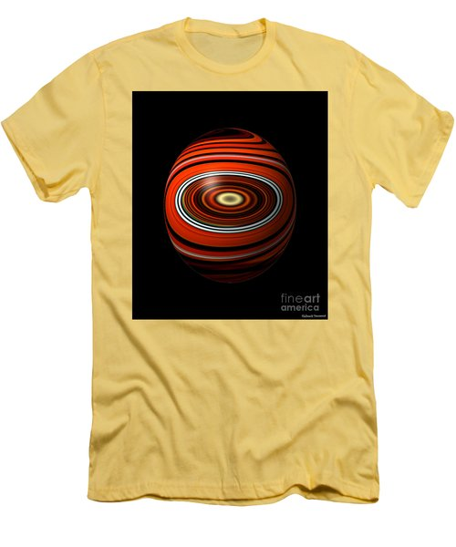 Planet Eye Men's T-Shirt (Slim Fit) by Thibault Toussaint