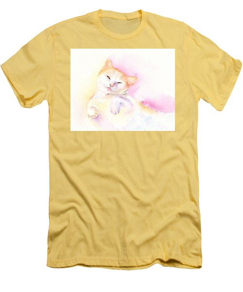 Playful Cat II Men's T-Shirt (Athletic Fit)