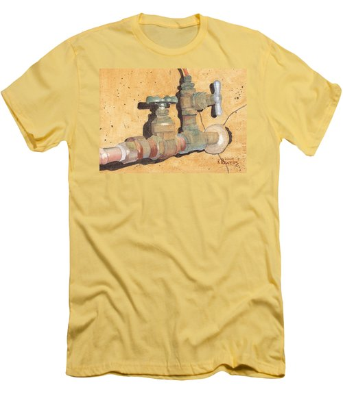 Plumbing Men's T-Shirt (Athletic Fit)
