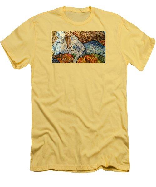 Ponder Men's T-Shirt (Slim Fit) by Claudia Cole Meek