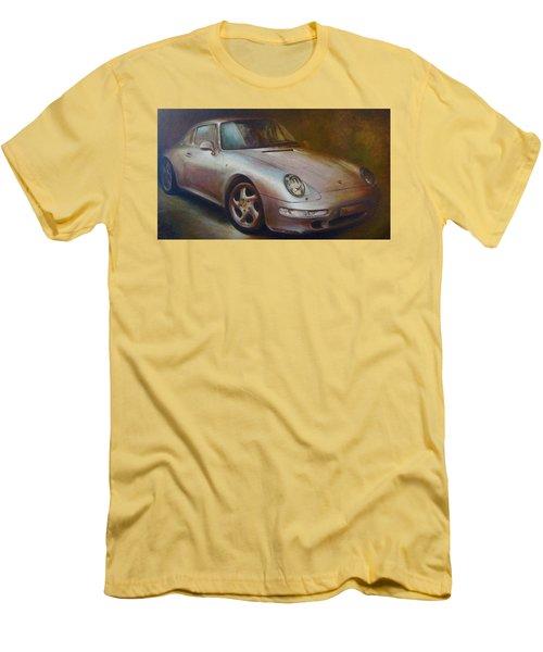 Porsche Men's T-Shirt (Slim Fit) by Vali Irina Ciobanu