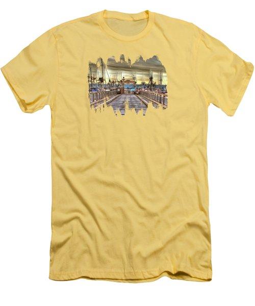 Port Of Newport - Dock 5 Men's T-Shirt (Slim Fit) by Thom Zehrfeld