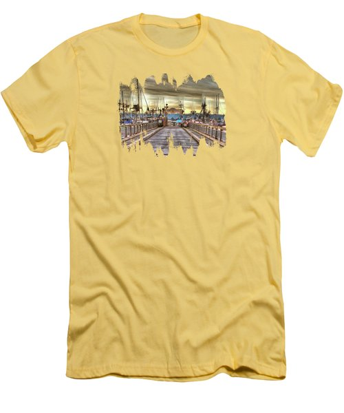 Port Of Newport - Dock 5 Men's T-Shirt (Athletic Fit)