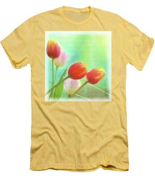 Postcards From The Edge Men's T-Shirt (Slim Fit) by Catherine Alfidi