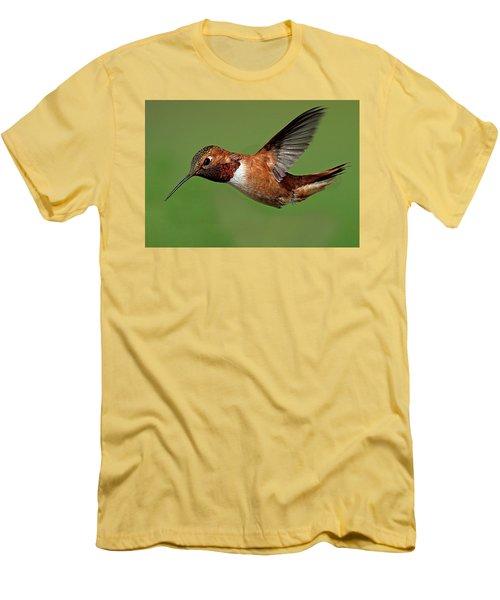 Potrait Men's T-Shirt (Slim Fit) by Sheldon Bilsker