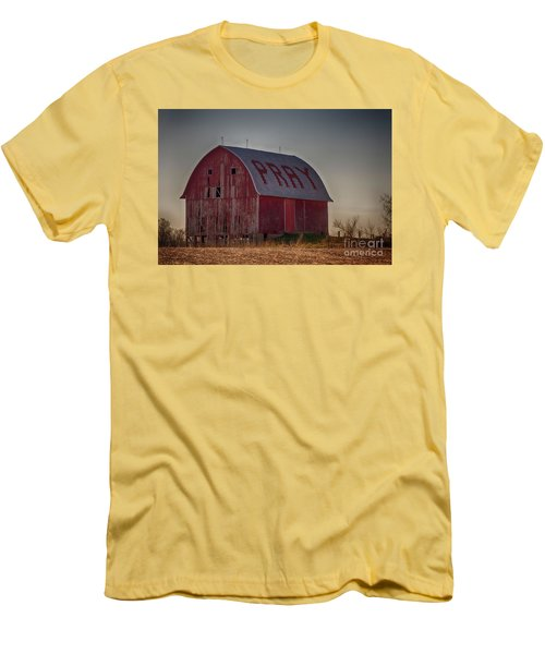 Pray Men's T-Shirt (Athletic Fit)
