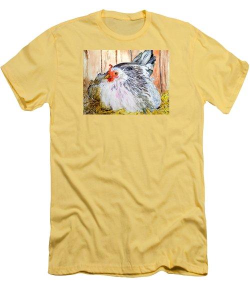 Pretty Little Chicken Men's T-Shirt (Athletic Fit)