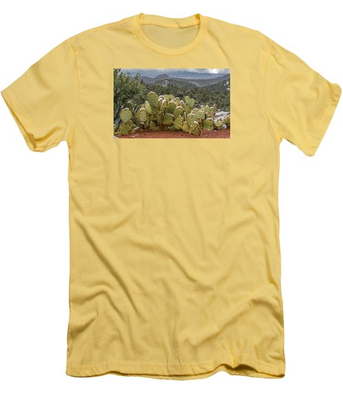 Cactus Country Men's T-Shirt (Athletic Fit)