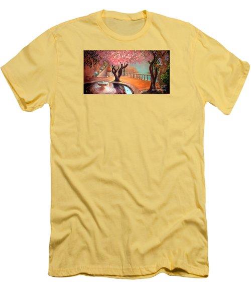 Primavera Men's T-Shirt (Slim Fit) by Michael Rock