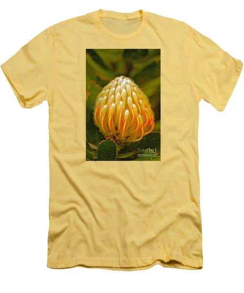 Proteas Ready To Blossom  Men's T-Shirt (Slim Fit) by Michael Cinnamond