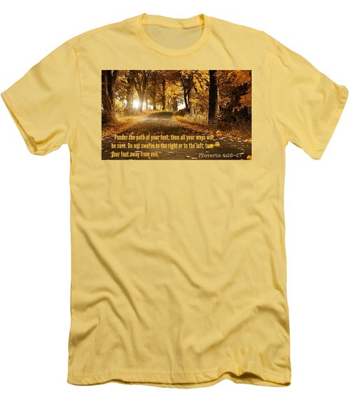 Proverbs104 Men's T-Shirt (Athletic Fit)