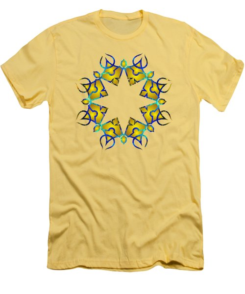 Psychedelic Mandala 011 A Men's T-Shirt (Athletic Fit)