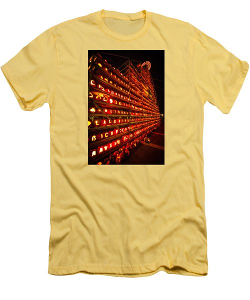 Pumpkin Festival 2015 Men's T-Shirt (Slim Fit) by Robert Clifford