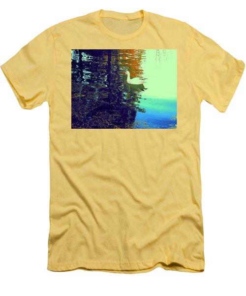 Quack Men's T-Shirt (Slim Fit) by Nancy Kane Chapman