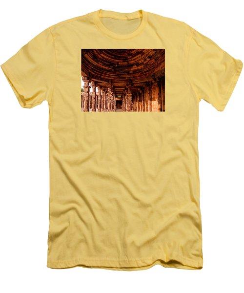 Qutub Minar Men's T-Shirt (Slim Fit) by M G Whittingham