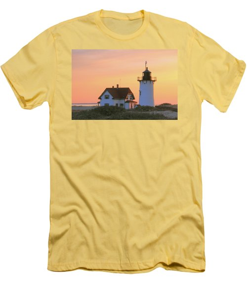 Race Point Light Men's T-Shirt (Athletic Fit)