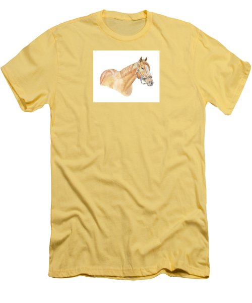 Racehorse Men's T-Shirt (Athletic Fit)