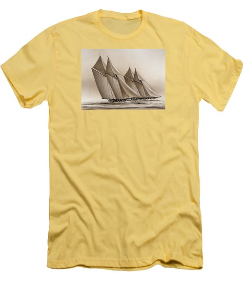 Racing Yachts Men's T-Shirt (Athletic Fit)