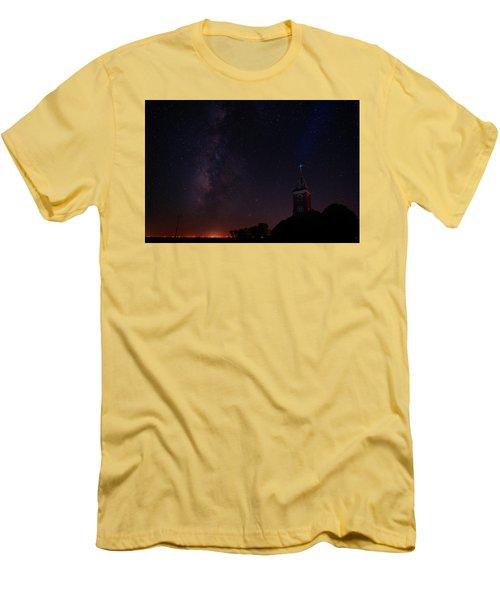 Men's T-Shirt (Slim Fit) featuring the photograph Radiant Light by Jonathan Davison