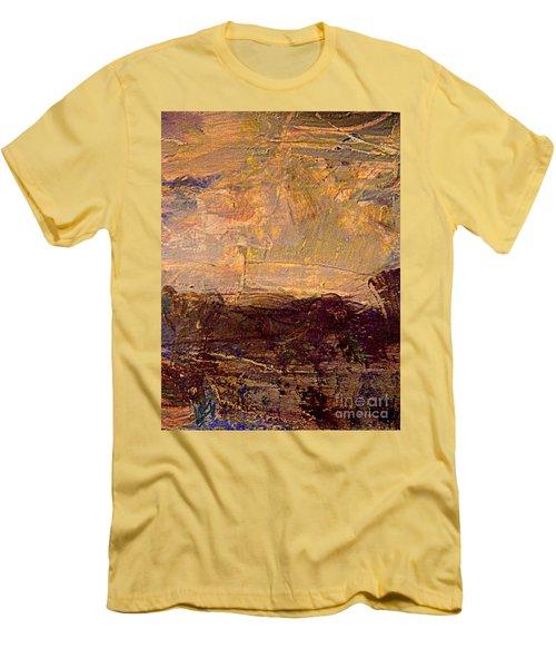 Radiant Light Men's T-Shirt (Slim Fit) by Nancy Kane Chapman