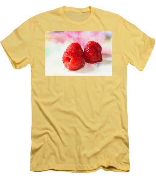Raspberries Men's T-Shirt (Athletic Fit)