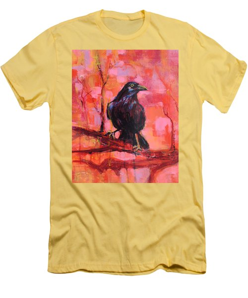 Raven Bright Men's T-Shirt (Athletic Fit)