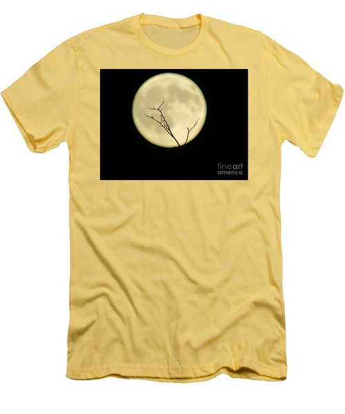 Reaching Out Into The Night Men's T-Shirt (Athletic Fit)