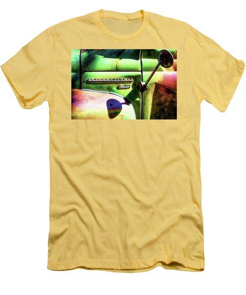 Rear View Mirror Men's T-Shirt (Slim Fit) by Robert FERD Frank