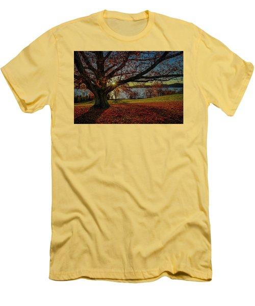 Red Carpet Men's T-Shirt (Slim Fit) by Jeffrey Friedkin
