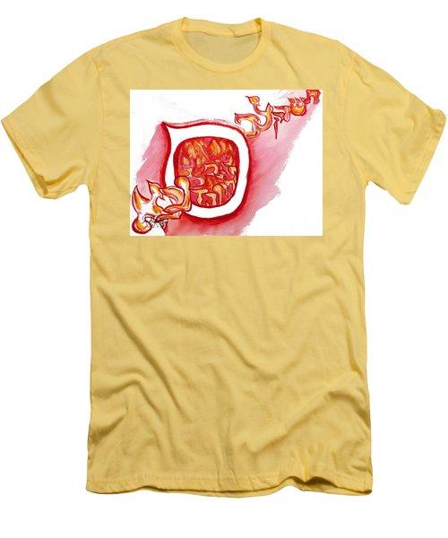 Red Hot Samech Men's T-Shirt (Athletic Fit)