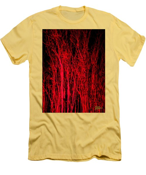 Red Magic Men's T-Shirt (Athletic Fit)