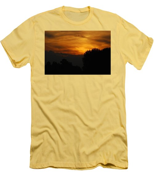Red Red Sunset Men's T-Shirt (Athletic Fit)