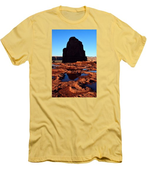 Red Rock Reflection At Sunset Men's T-Shirt (Athletic Fit)