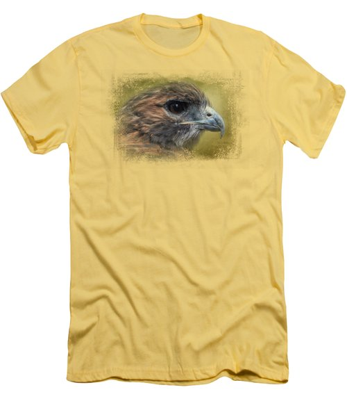 Red Tailed Hawk At Reelfoot Men's T-Shirt (Athletic Fit)