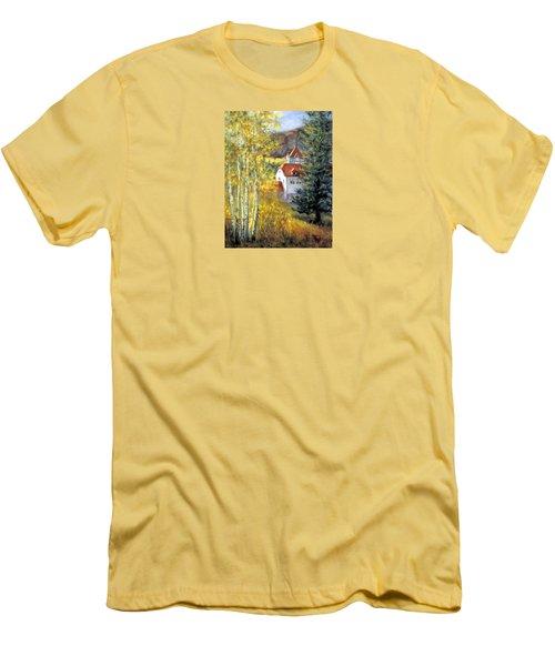 Redstone Inn Men's T-Shirt (Slim Fit) by Jill Musser