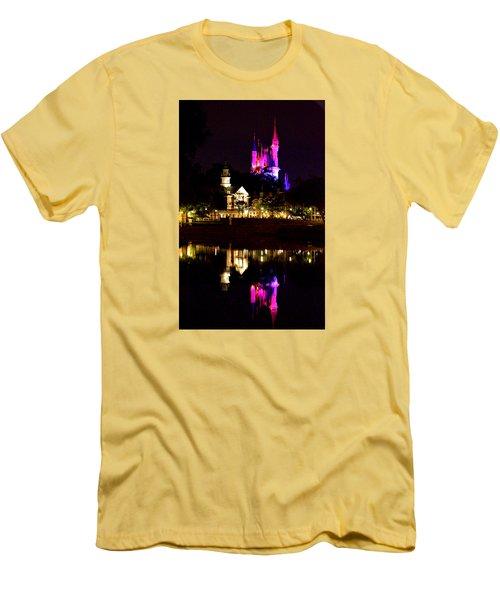 Reflecting Dreams Men's T-Shirt (Slim Fit) by William Bartholomew