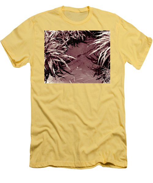 Men's T-Shirt (Slim Fit) featuring the photograph Reflections 2 by Mukta Gupta