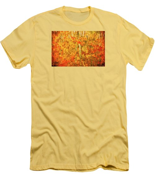 Reflections Of Fall Men's T-Shirt (Slim Fit) by Rick Furmanek