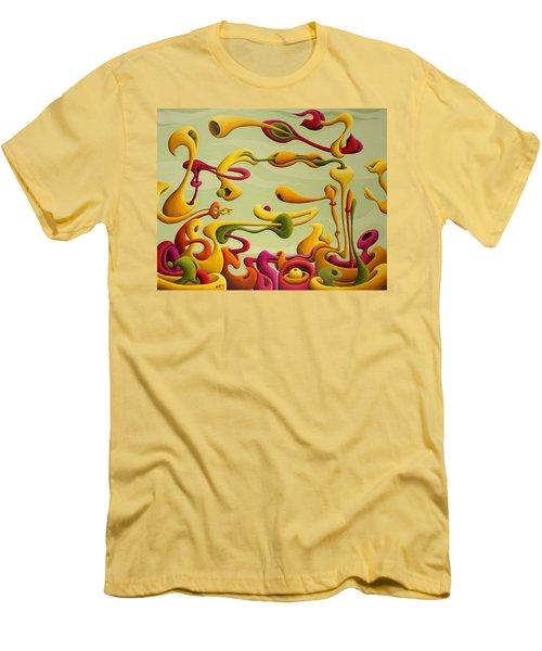 Relearning Gravitational Resistance Men's T-Shirt (Athletic Fit)