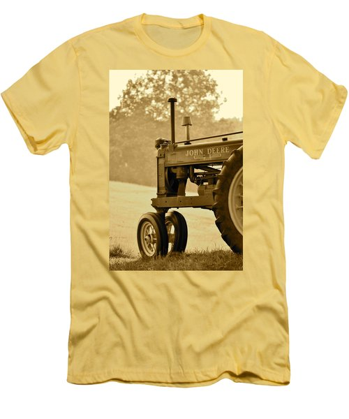 Resting In Sepia Men's T-Shirt (Athletic Fit)