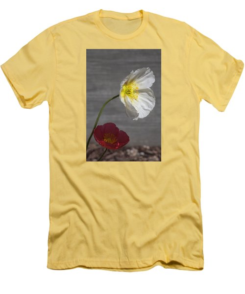 Resting In Your Shade Men's T-Shirt (Slim Fit) by Morris  McClung