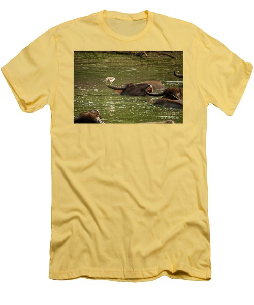 Resting  Men's T-Shirt (Athletic Fit)