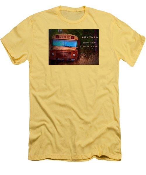 Retired But Not Forgotten Men's T-Shirt (Athletic Fit)