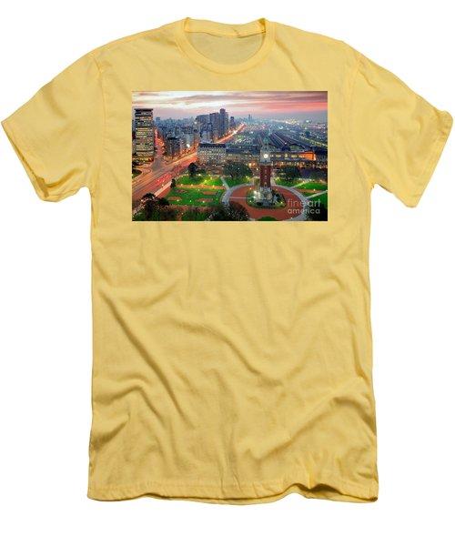 Retiro Buenos Aires Men's T-Shirt (Athletic Fit)