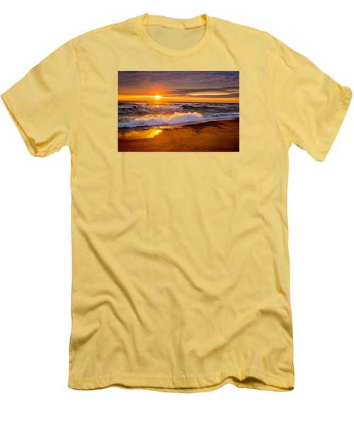 Men's T-Shirt (Slim Fit) featuring the photograph Return Engagement  by John Harding