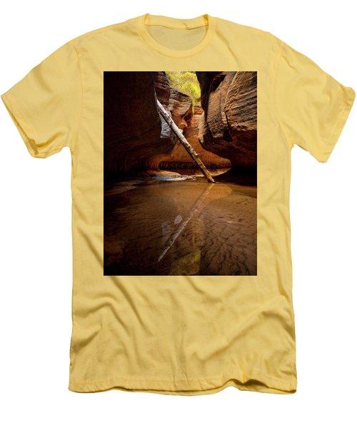 Reunion Men's T-Shirt (Slim Fit) by Dustin LeFevre